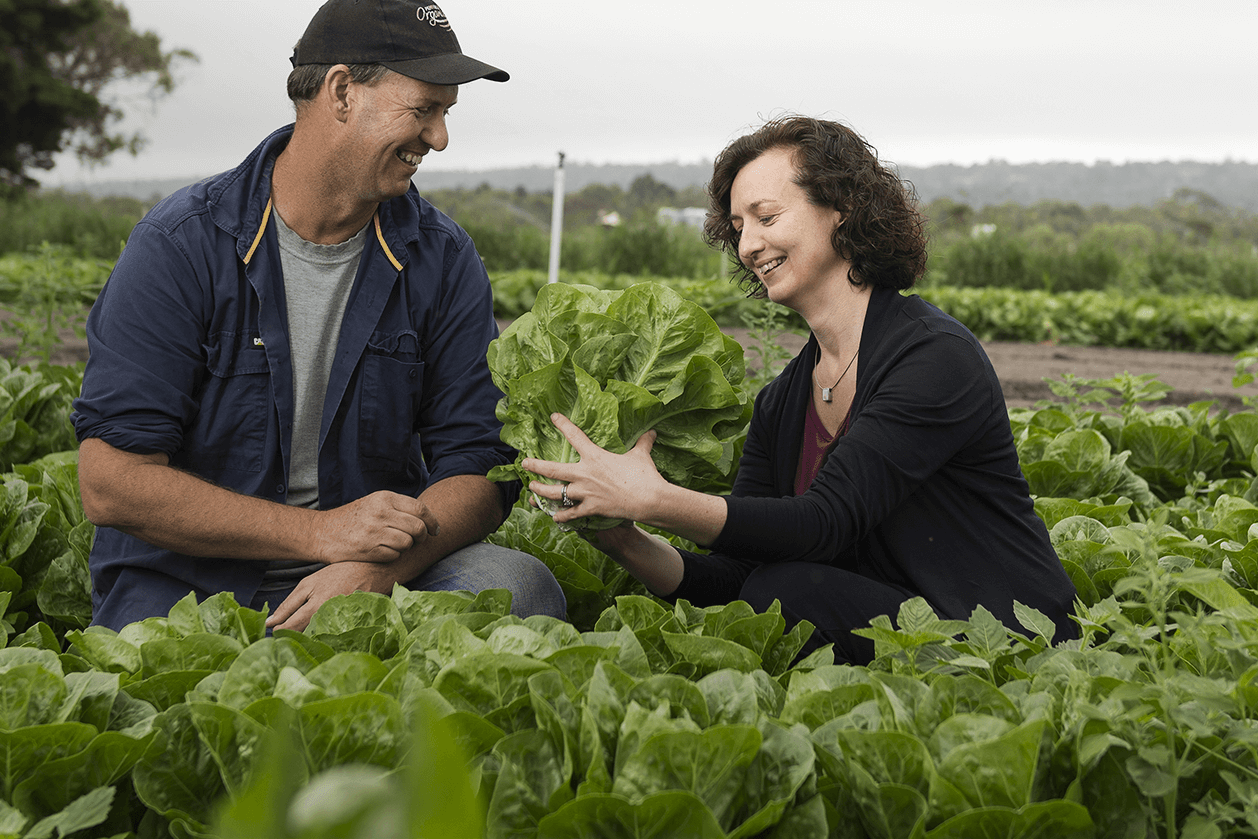Dr Rachel Carey visit urban farms in outer Melbourne